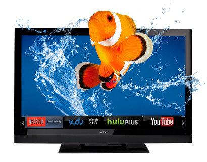 """VIZIO E-Series 32"""" Theater 3D™ LCD HDTV with VIZIO Internet Apps®   E3D320VX"""