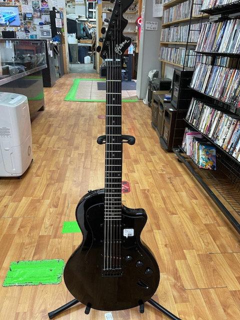 Esteban Midnight Legacy Black LP Style Solid Body 00s Electric Guitar
