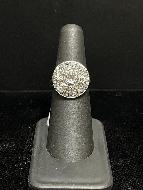 14KWG Diamond Ring