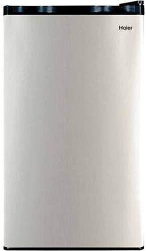 Haier hc32sf10sv 3.2-cu. ft. Mini fridge / freezer, Virtual Stainless Steel
