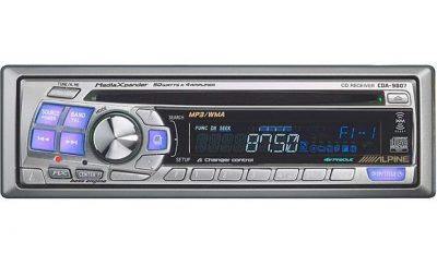 Alpine CDA-9807 CD Player