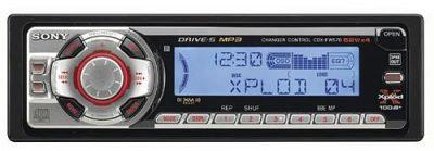 Sony CDX-FW570 CD Player