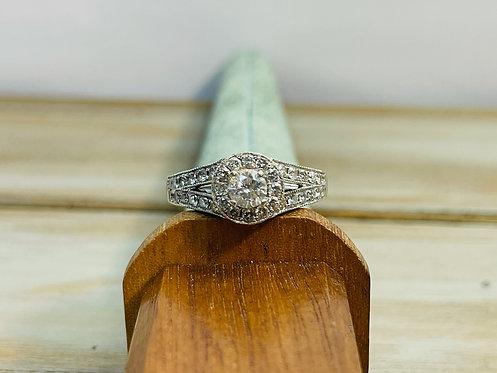 14KWG Engagement Ring