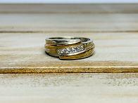 10KTT Gents Diamond Ring