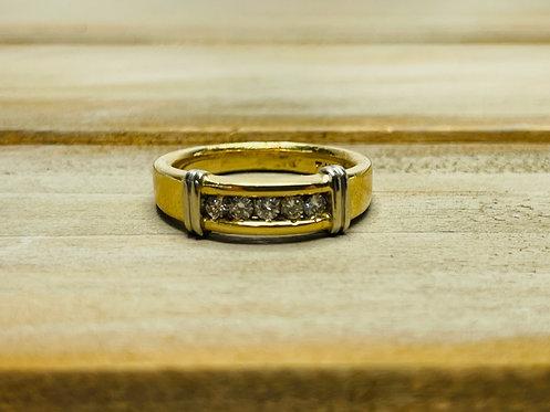 14KYG Gents Diamond Ring