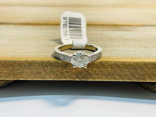 14KWG Princess Ring