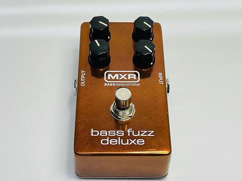 MXR Bass Pedal Fuzz Deluxe M84