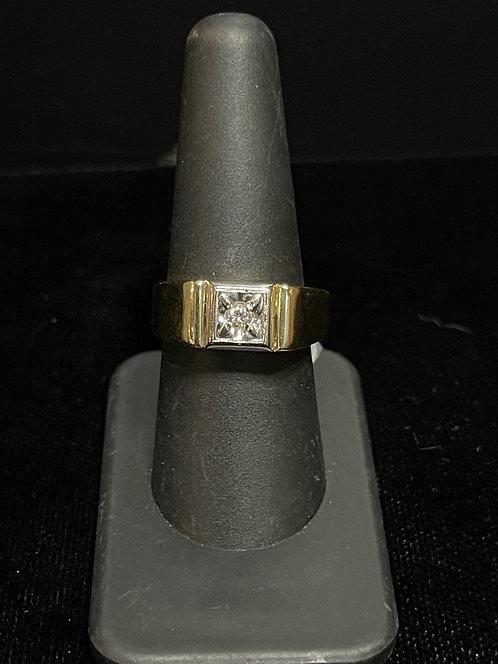 14KYG J Diamond Ring