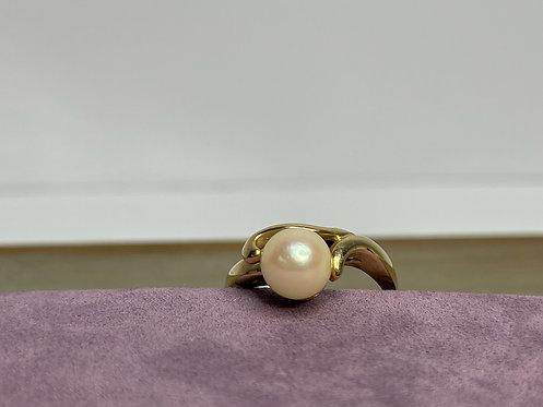 14KYG Pearl Ring