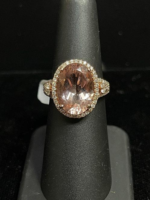 10KRG Morganite Ring