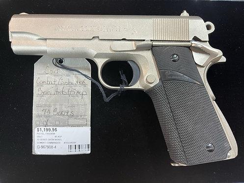 Colt 70 Series Satin Nickel Combat Commander