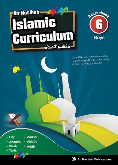 An Nasihah Course Book 6 Boys