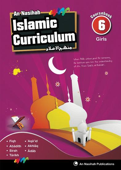 An Nasihah Course Book 6 Girls