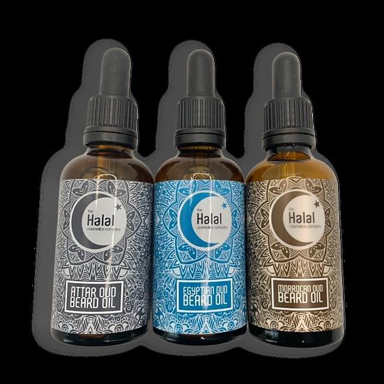 Set of 3 Beard Oils
