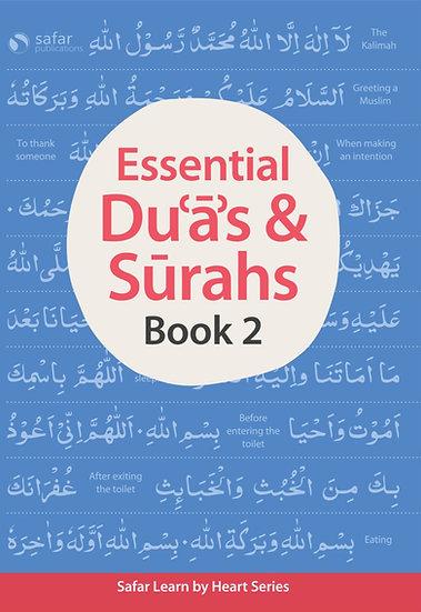 Safar Essential Duas and Surahs: Book 2