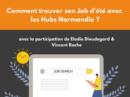 Trouver son job d'été avec les Hubs Normandie