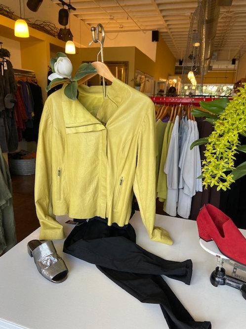 Cigno Nero leather jacket