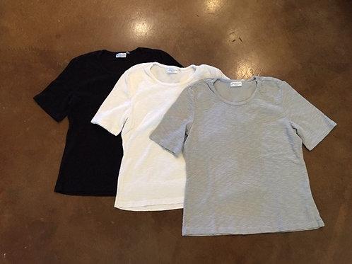 Prairie Cotton ~ black, white & grey