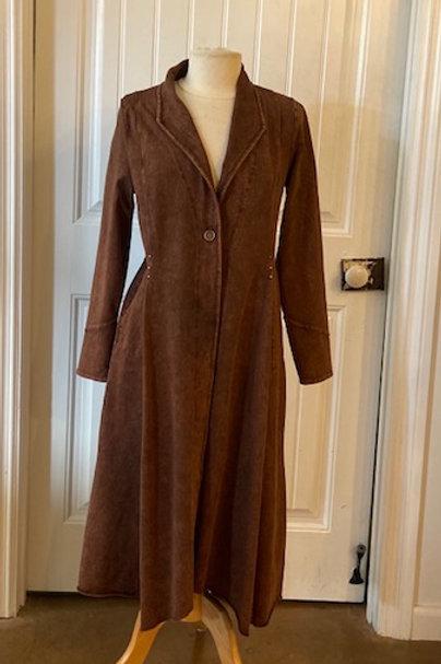 Testimony long jacket
