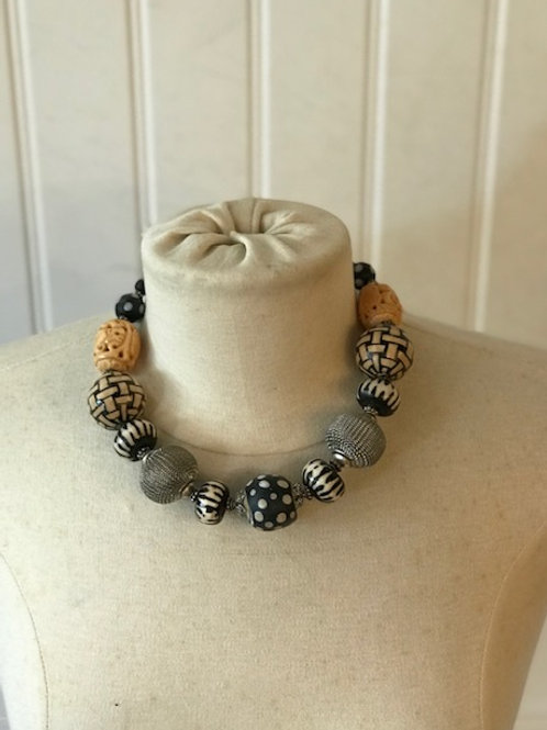 necklace by Mary Brown