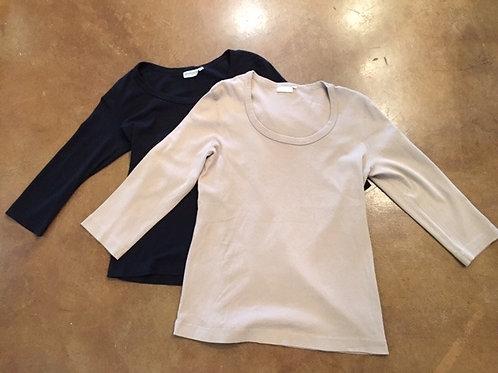Prairie Cotton ~ black & beige