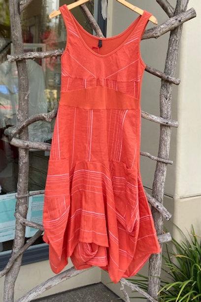 Inizio dress with pockets