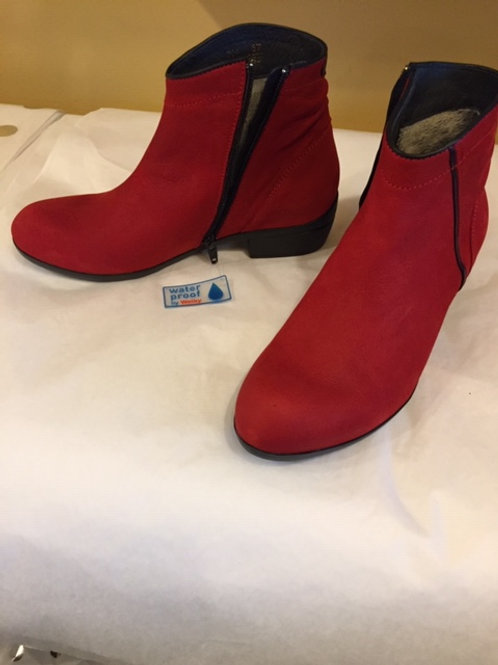 Wolky red boot - waterproof