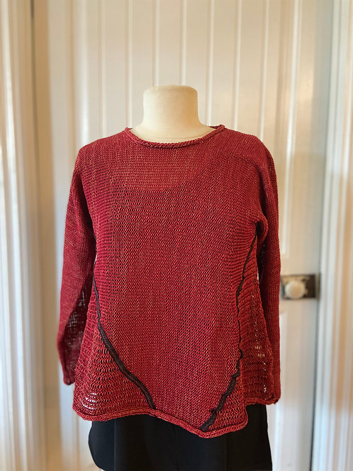 Red Threads sweater