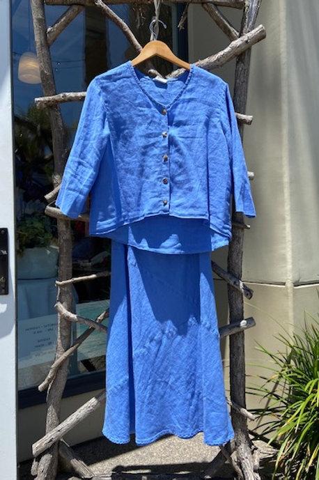 Color Me Cotton shirt & skirt