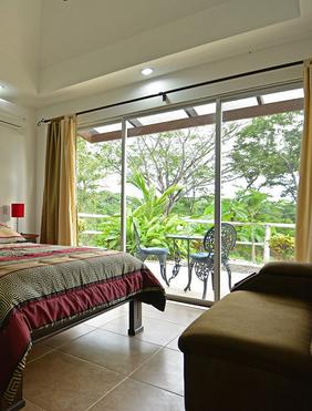 PLED bedroom with Balcony