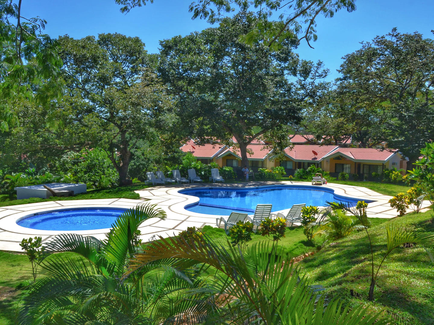 The villas at Playa Lagarto