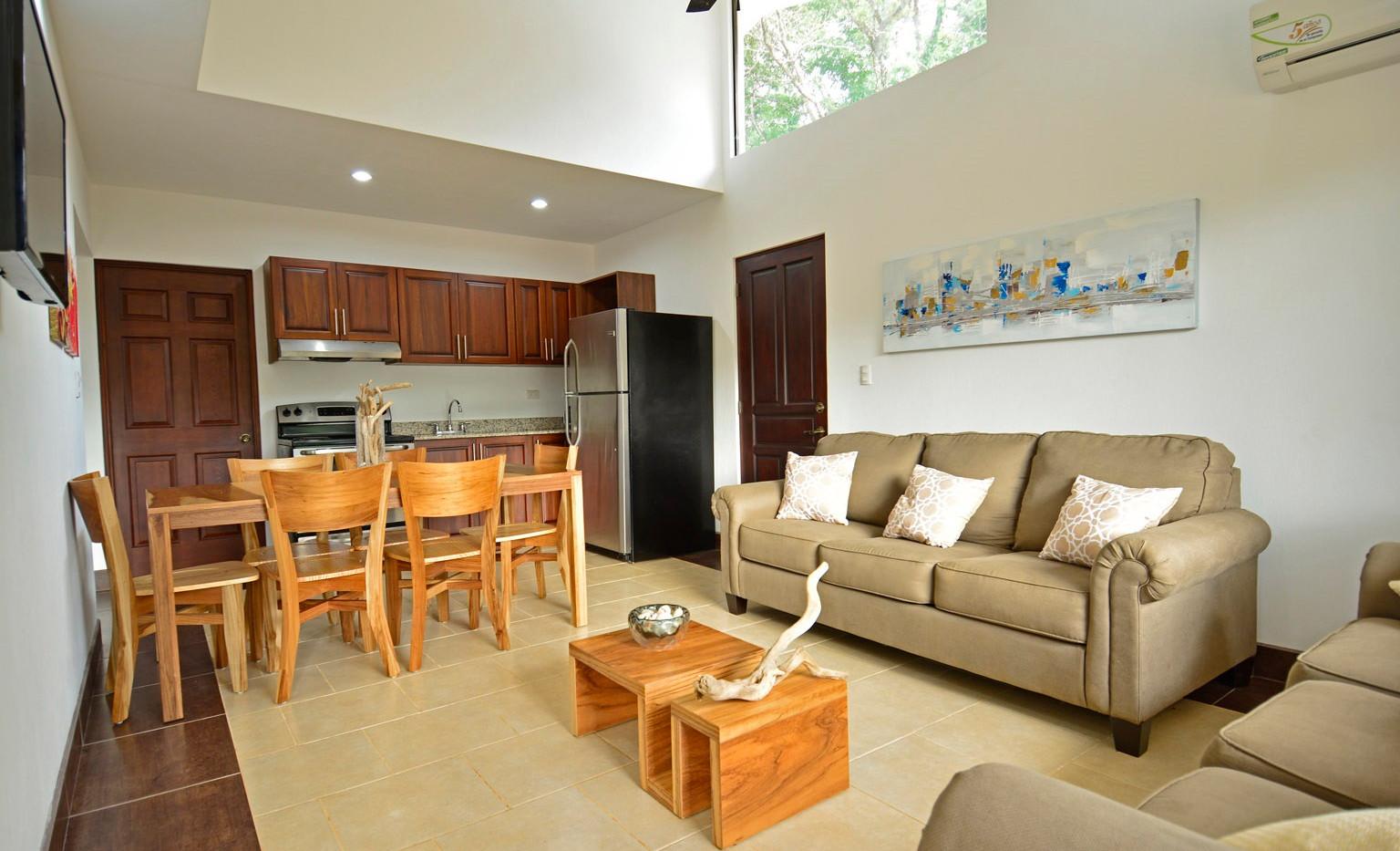 Custom home interior living room.