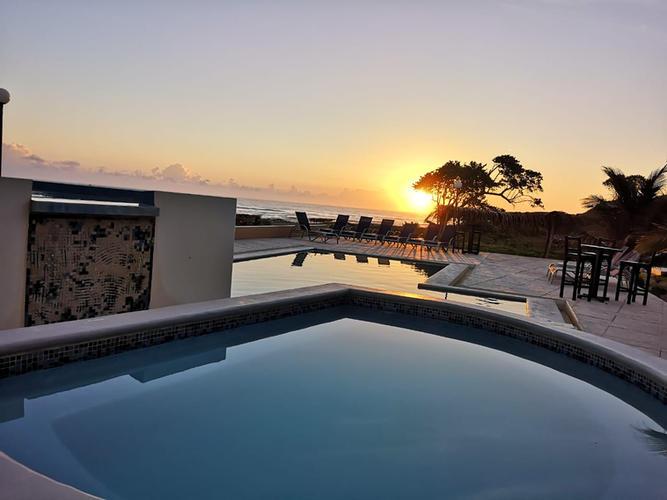 Sunsets From Trujillo Beach