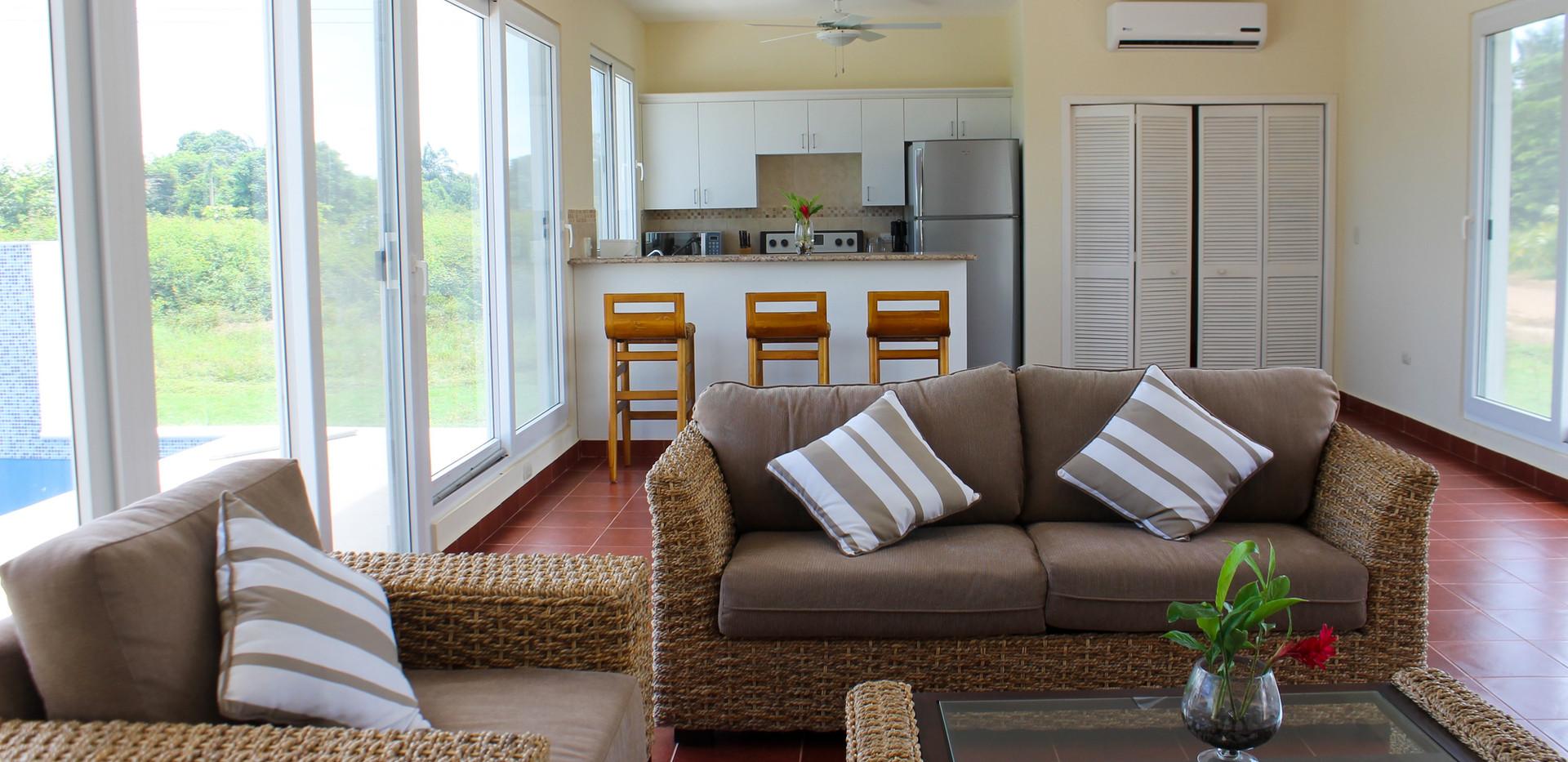 Custom home interior.