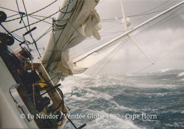 Vendée Globe 1992, Horn-fok ©FaNándor