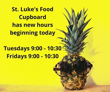 Copy of St. Luke's Food Cupboard has new