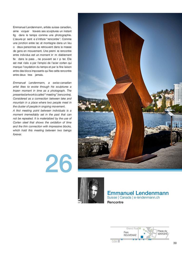 biennale Montreux 2019 emmanuel lendenmann sculpteur