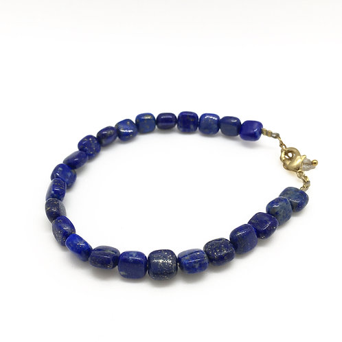 Bracelet or Lapis lazuli