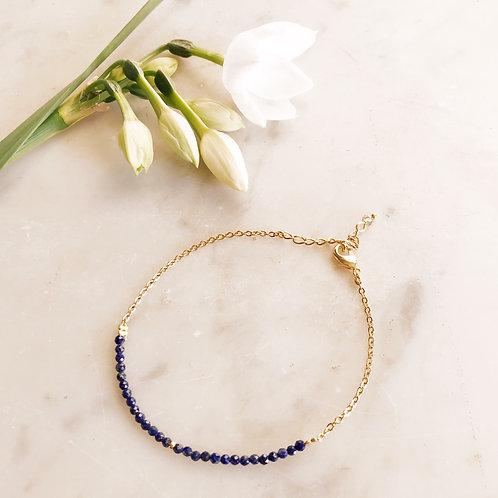 Bracelet Emile lapis