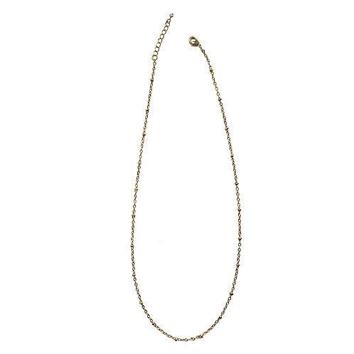 Collier chaine boules