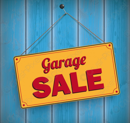 May 22nd, 2021 - Garage Sale!