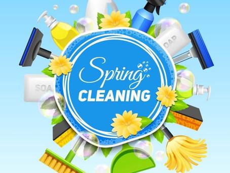 Spring Cleaning Volunteer Day!