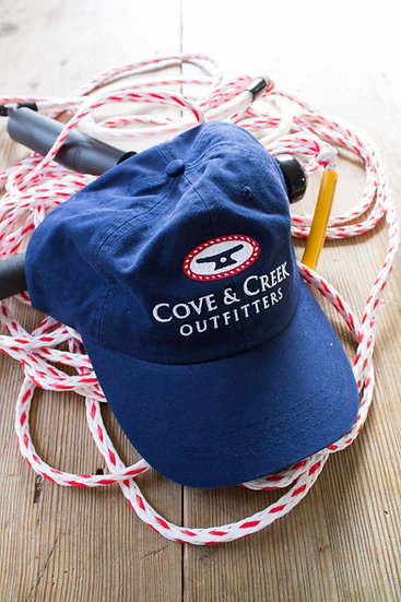 Wholesale Classic Rope & Cleat Navy Hat with Red, White and Blue