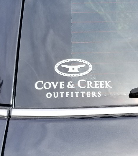 Cove & Creek Die Cut Decal