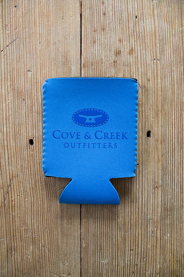 Cove & Creek Outfitters  Can Holder with Blue