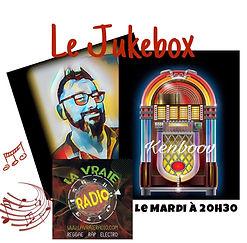 Le Jukebox, l'émission présentée par Kenboov le mardi sur la vraie radio