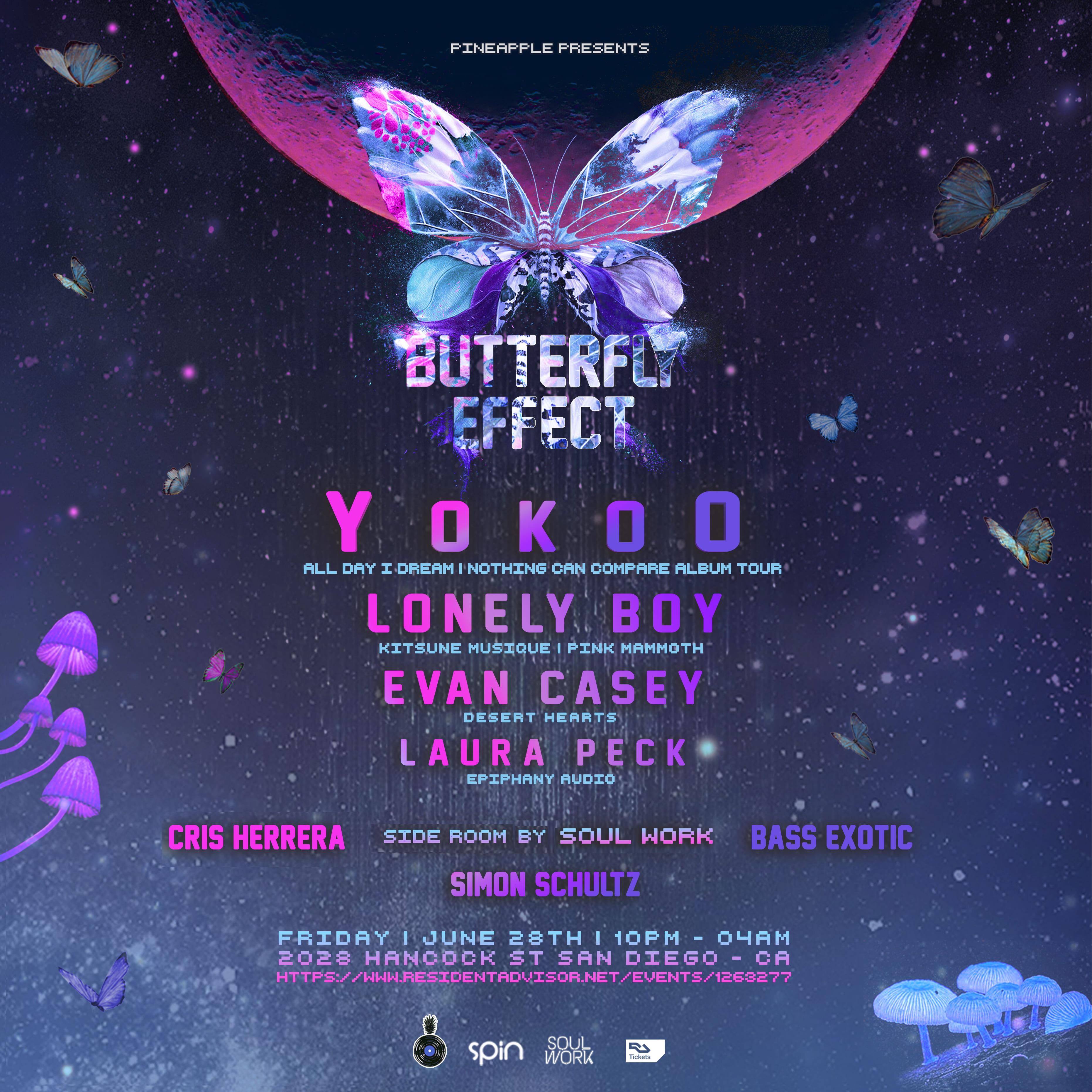 Butterfly Effect Flyer