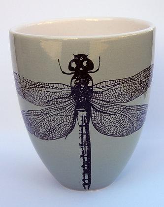TafelFreude Vase salbeigrün Libelle
