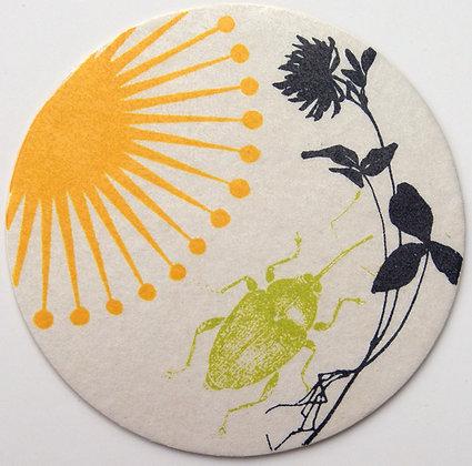 GlasTräger Käfer & Blumen