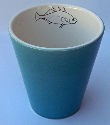 TafelFreude Tasse türkis Fisch